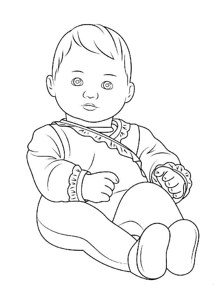 american girl doll coloring page dolls drawing at getdrawings free download page girl doll coloring american