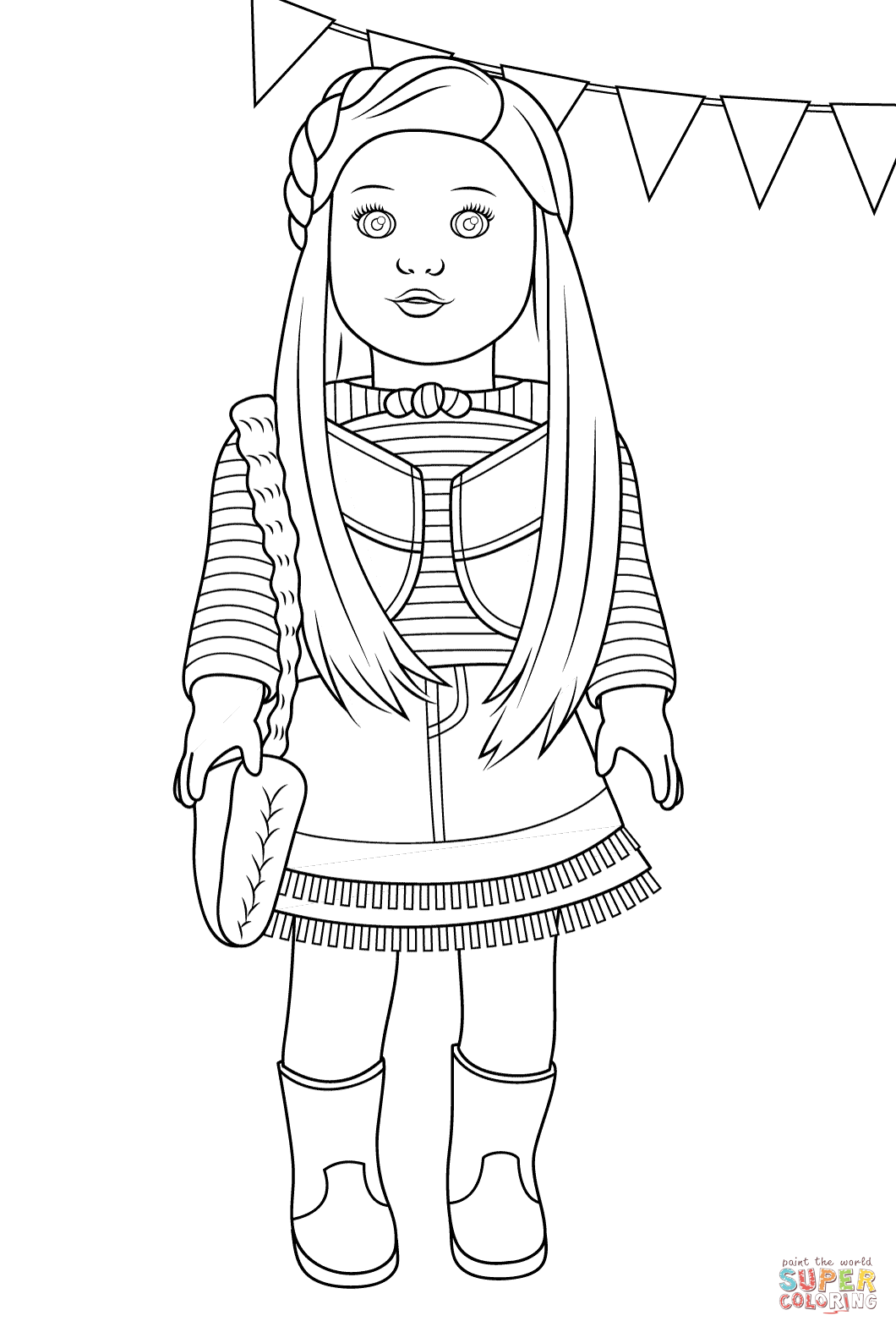 american girl doll coloring page my cup overflows kit kittredge an american girl girl american page doll coloring