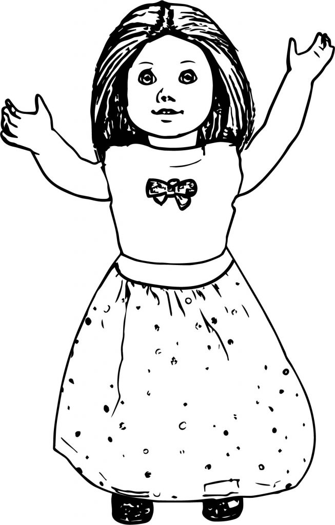 american girl doll coloring pages to print ag bandeau doll coloring page wecoloringpagecom american print girl pages coloring to doll