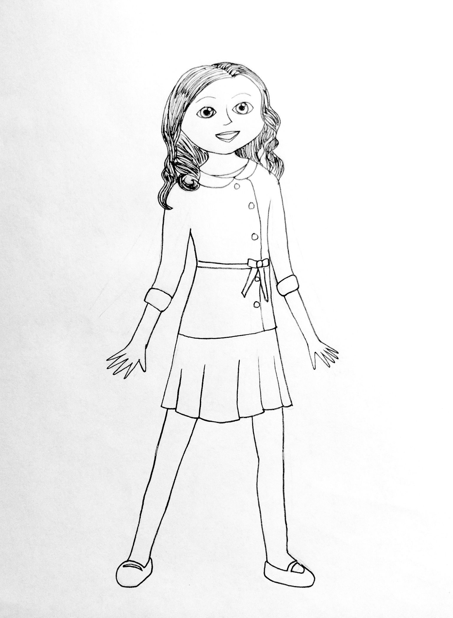 american girl doll coloring pages to print american girl doll coloring pages to print print to girl doll coloring american pages