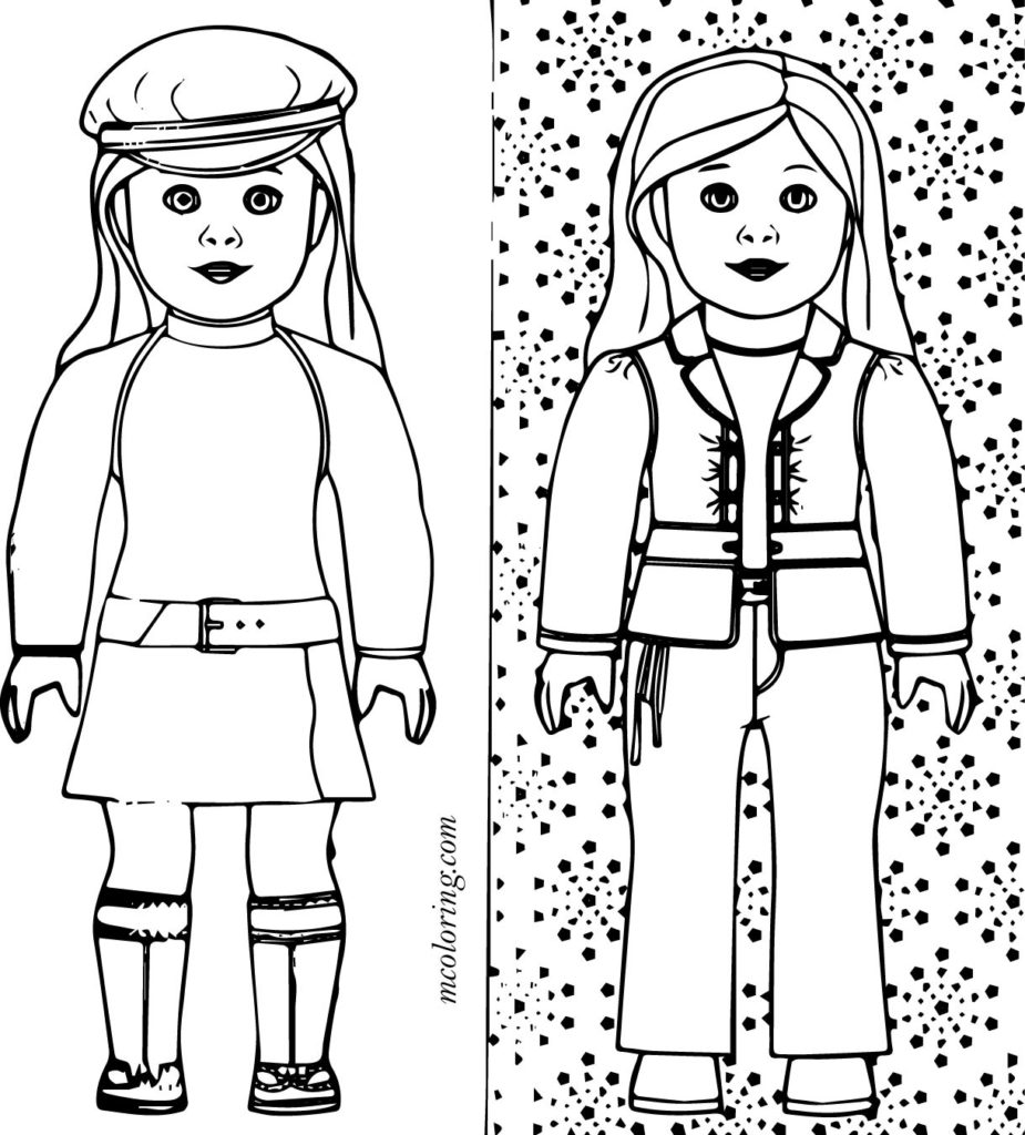 american girl doll coloring pages to print american girl doll pictures to print and color coloring girl print coloring american to pages doll