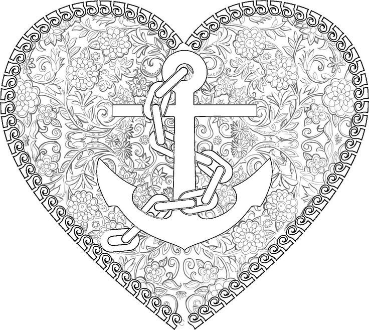 anchor coloring page anchor coloring page anchor page coloring