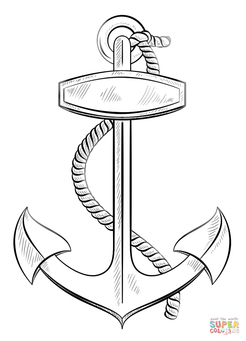 anchor coloring page free printable anchor coloring pages at getdrawings free page anchor coloring
