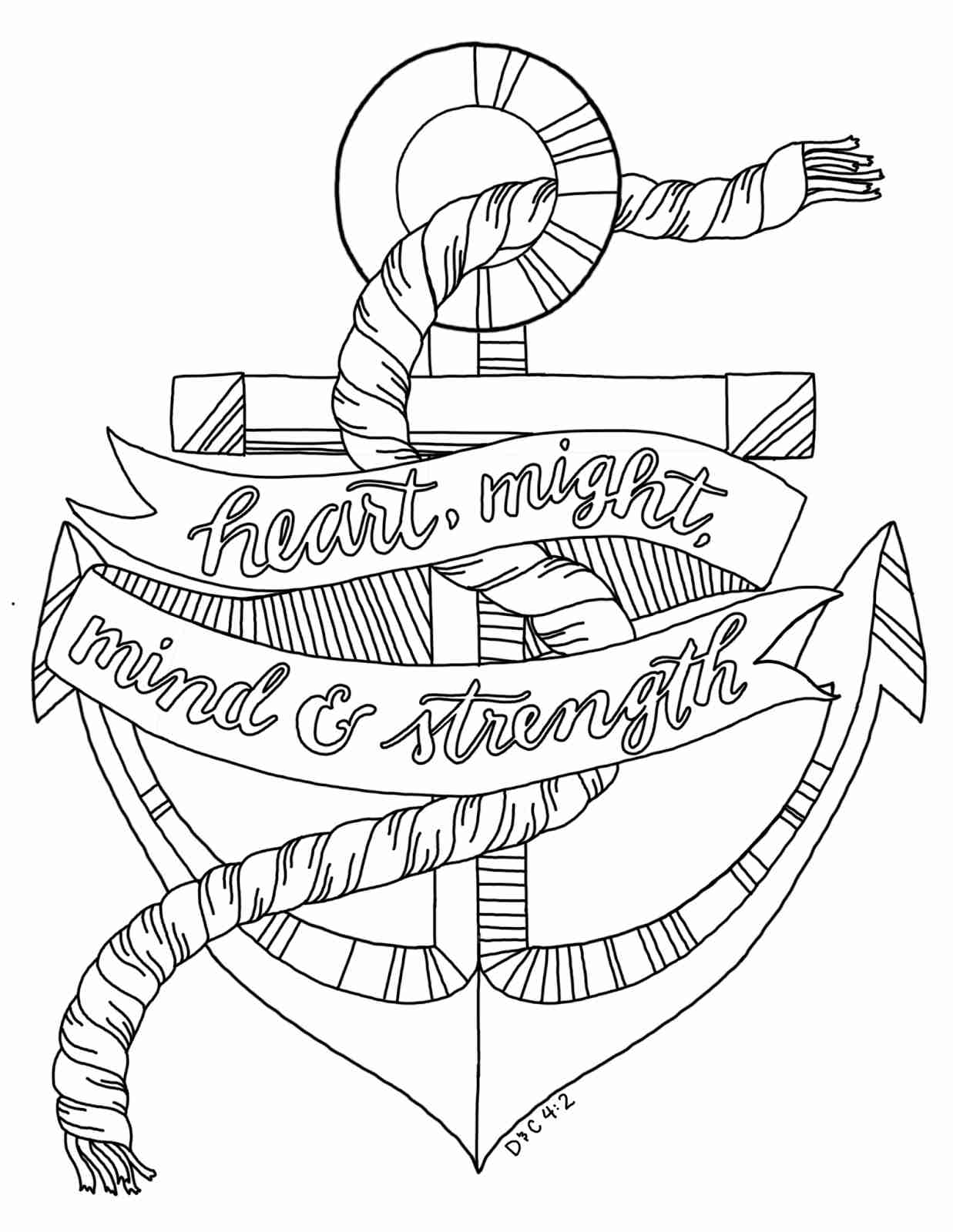 anchor coloring page printable anchor coloring pages at getcoloringscom free page anchor coloring