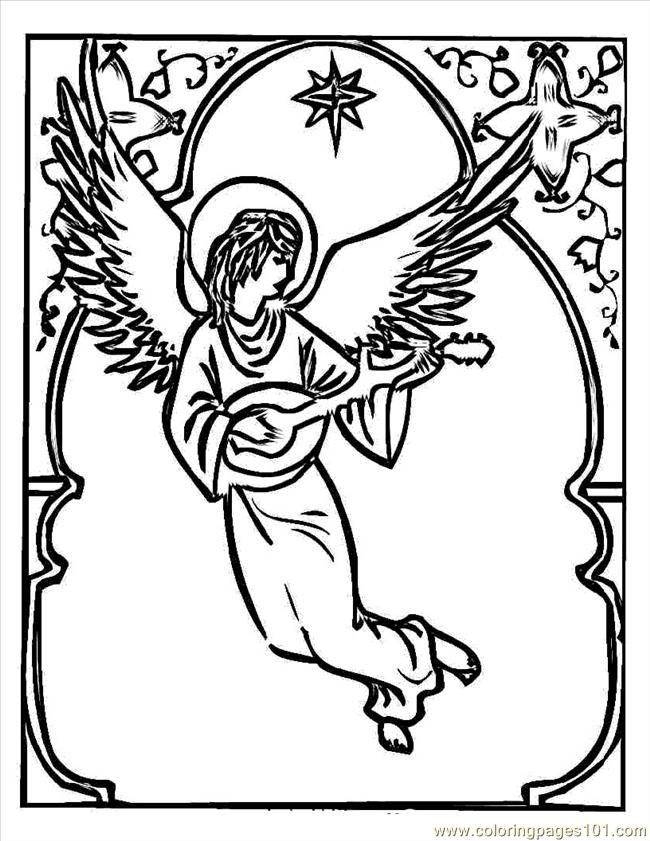 angel coloring page 63 best angels coloring pages for adults images on coloring angel page