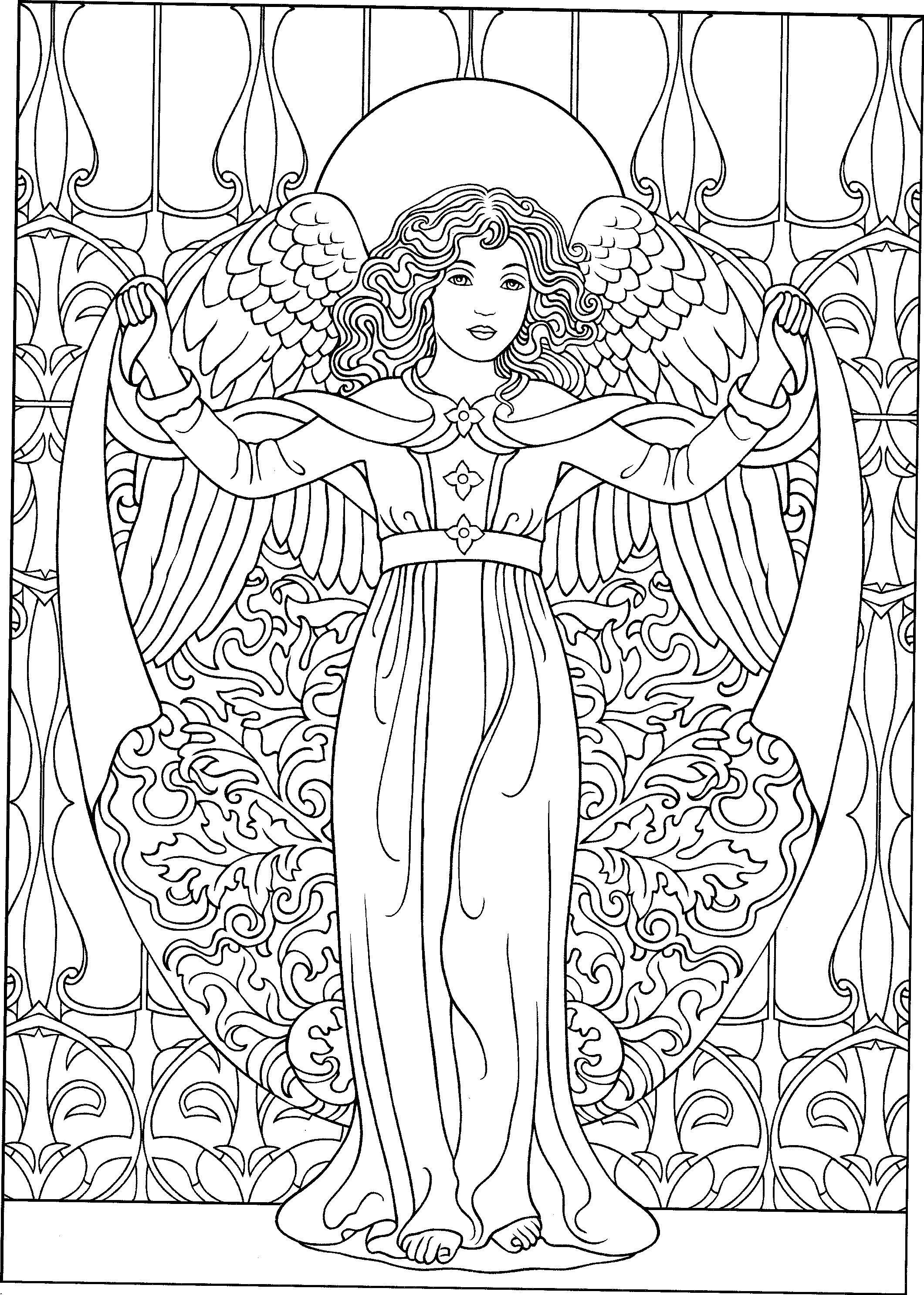 angel coloring page beautiful angel coloring page coloriage image coloriage angel coloring page