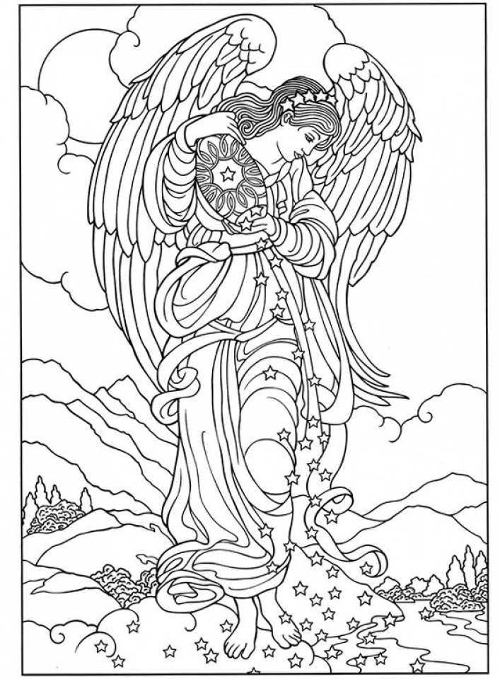 angel coloring page don39t eat the paste 2015 angel coloring pages angel coloring page
