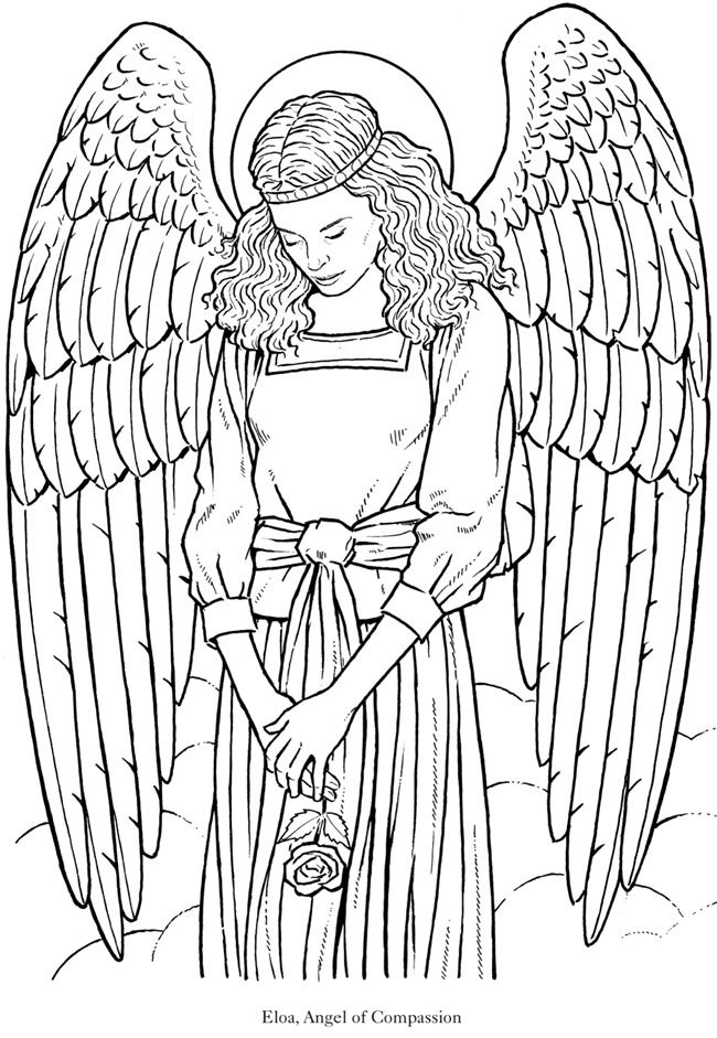 angel coloring page kids page angel coloring pages page coloring angel