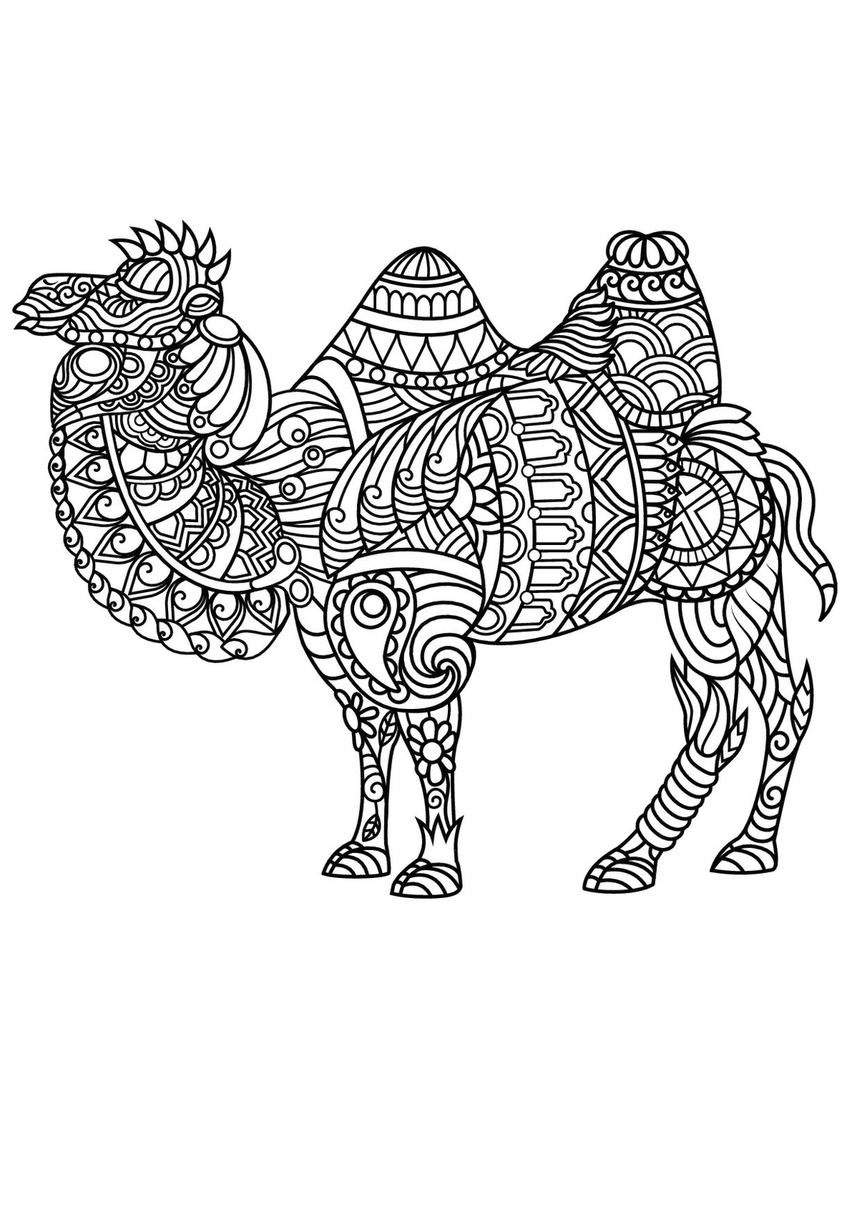 animal coloring pages free 30 free printable geometric animal coloring pages the pages free animal coloring