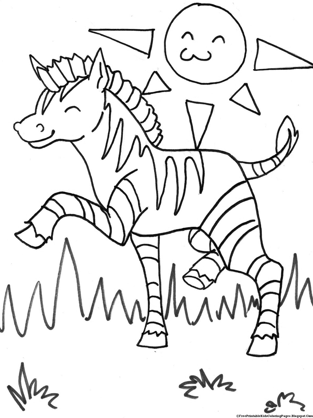animal coloring pages free zebra coloring pages free printable kids coloring pages free pages coloring animal