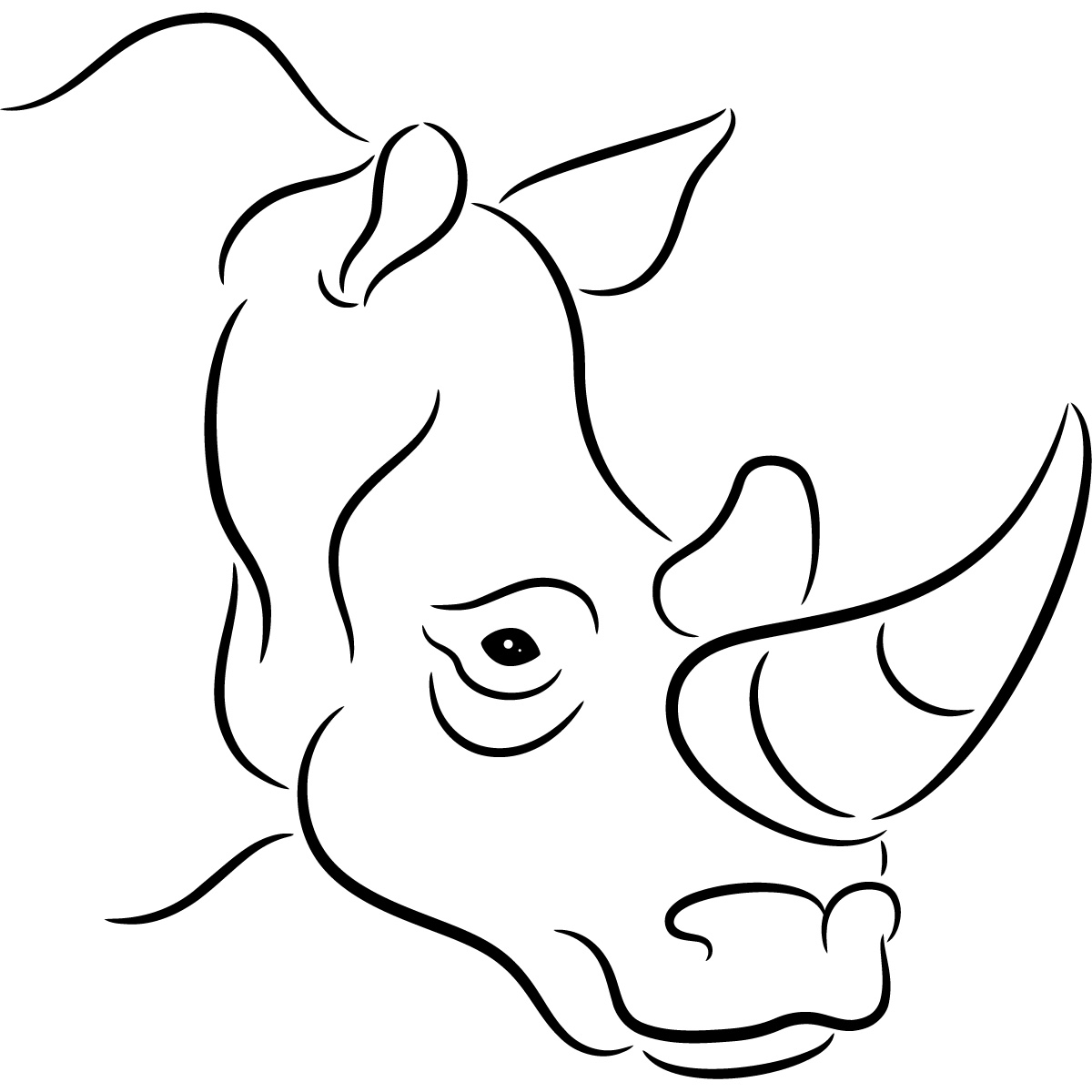 animal outlines to color colour in farm animals coloring home animal to color outlines
