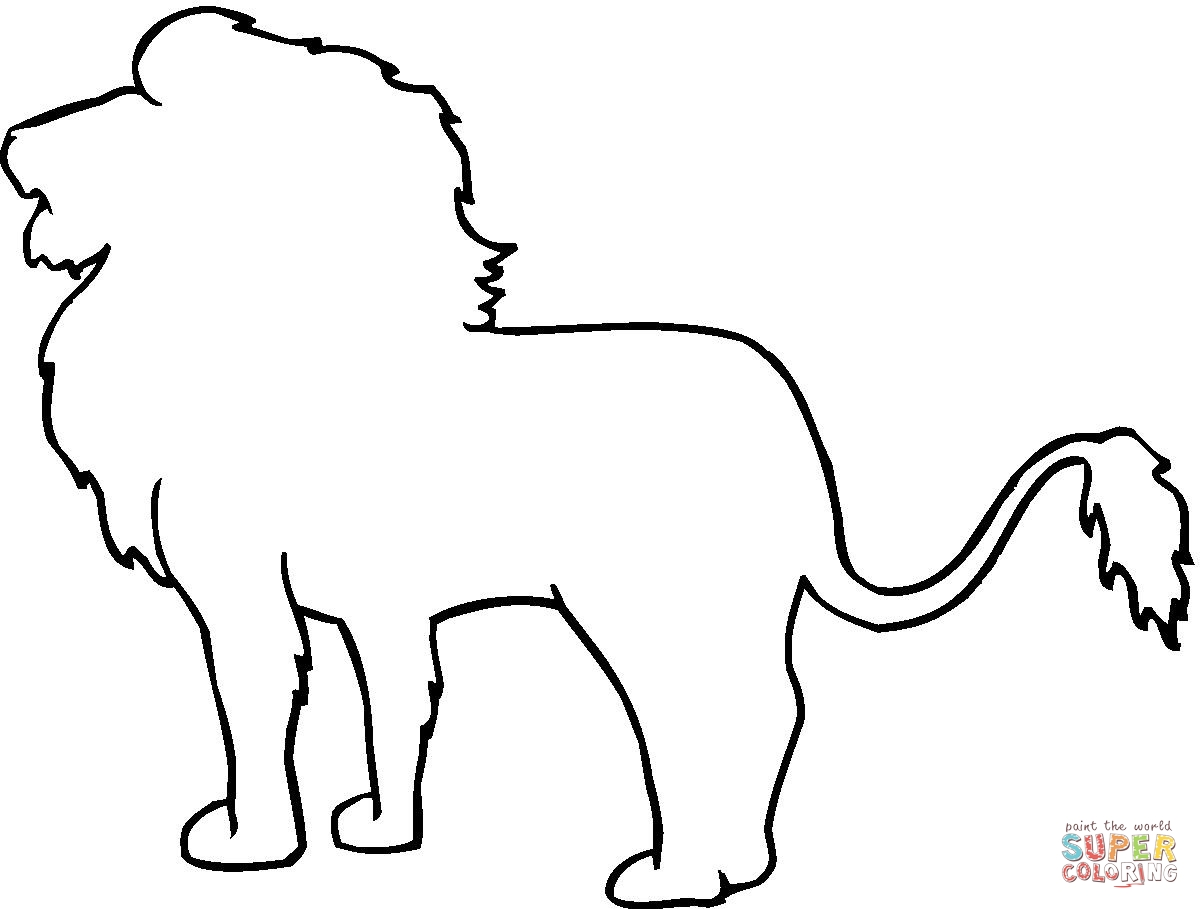 animal outlines to color outlines of animals free download on clipartmag to color animal outlines