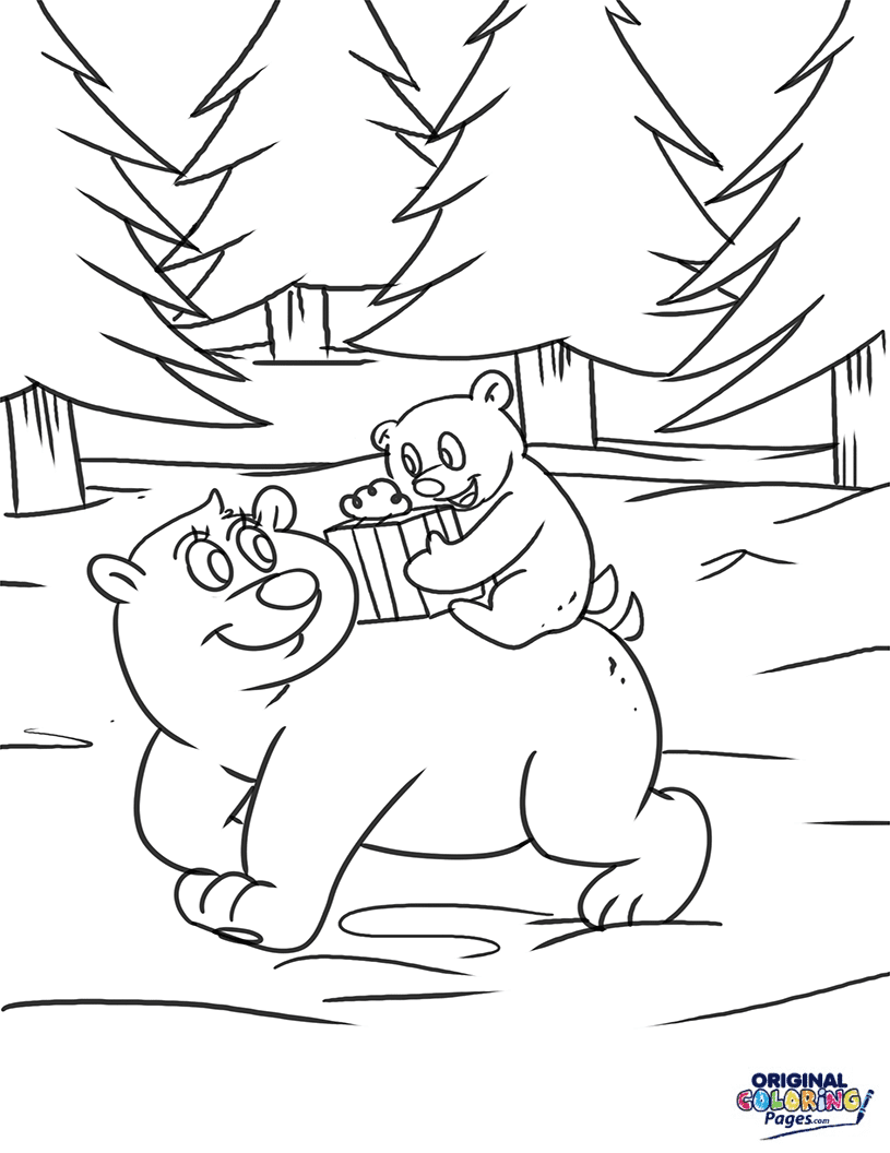 animals in winter coloring pages animals in the forest winter coloring page coloring pages in winter animals coloring