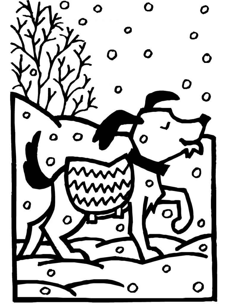 animals in winter coloring pages free printable winter coloring pages for kids winter coloring pages animals in