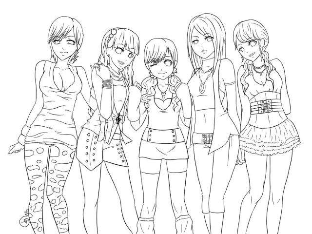 anime bff coloring pages anime girl bff coloring pages bff pages anime coloring