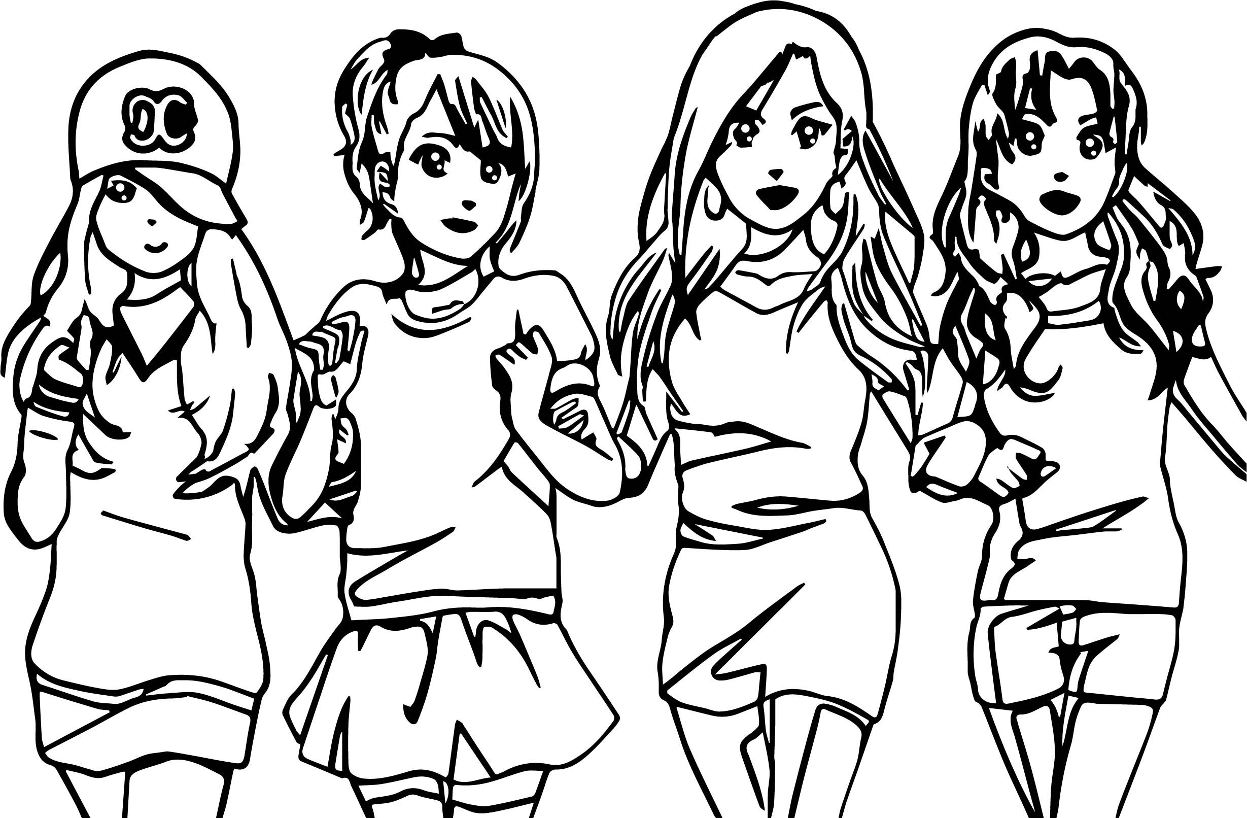 anime bff coloring pages awesome four anime best friends forever coloring page pages coloring bff anime