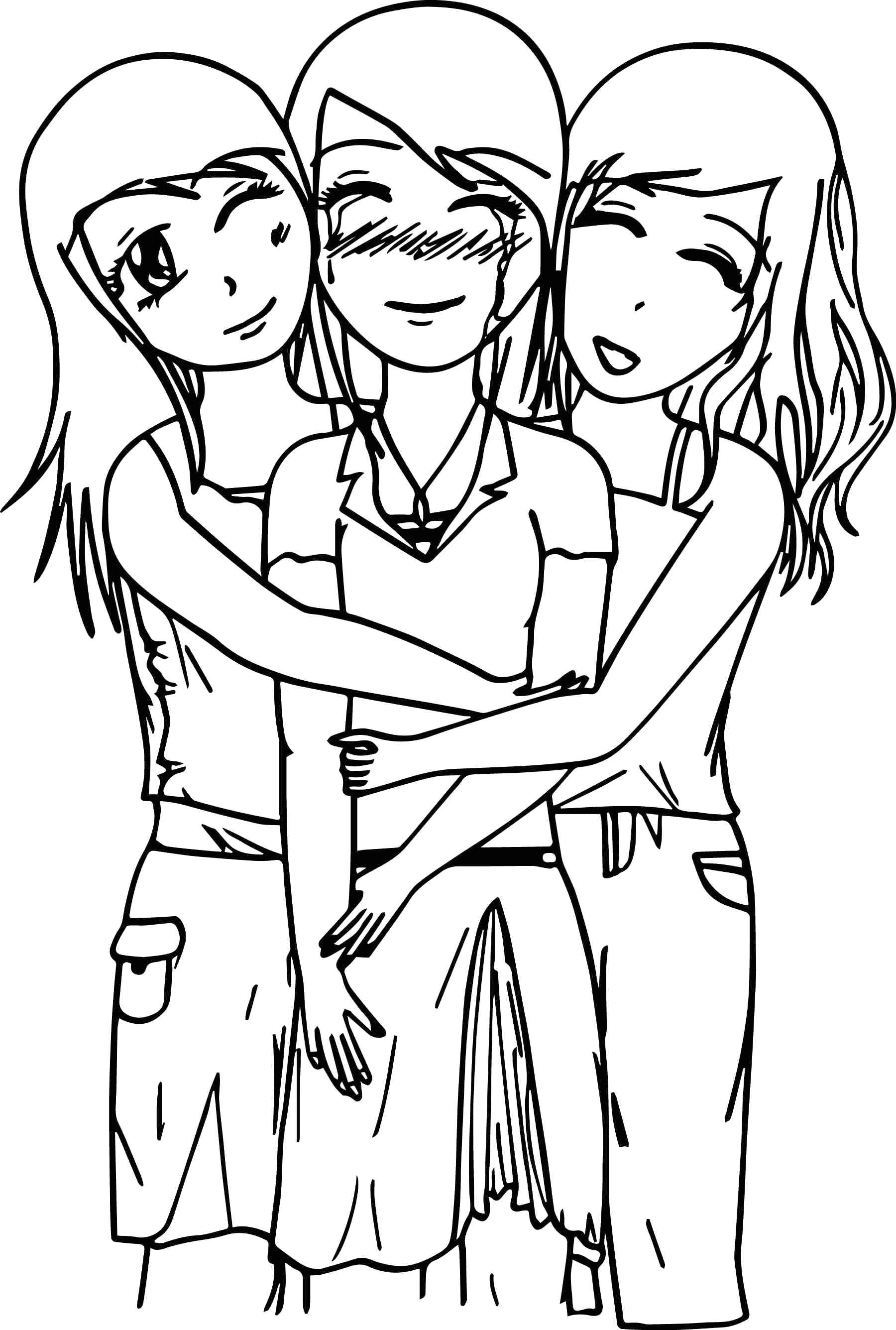 anime bff coloring pages bff forever by annimay on deviantart coloring pages bff anime