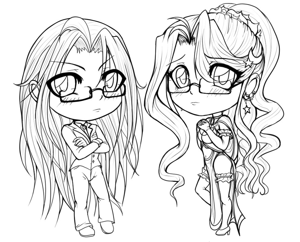 anime bff coloring pages coloring pages of two best friends at getdrawings free bff coloring anime pages