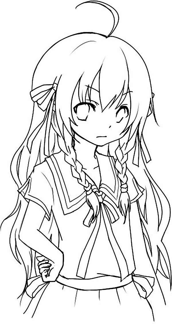 anime coloring pictures 9 anime girl coloring pages pdf jpg ai illustrator pictures anime coloring