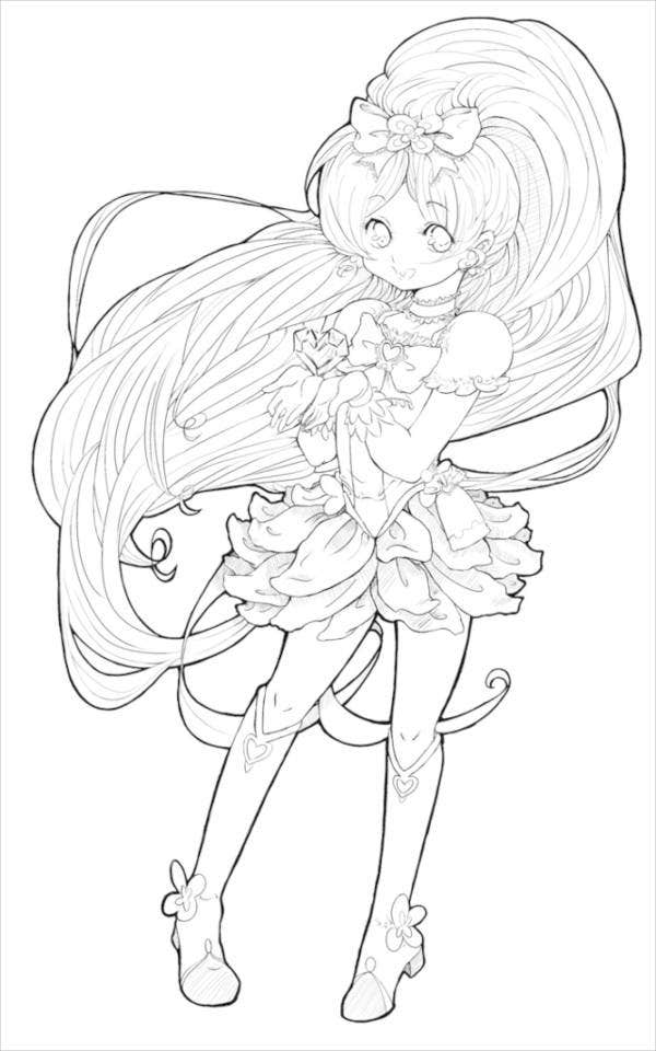 anime coloring pictures anime line art clipart clipground coloring pictures anime