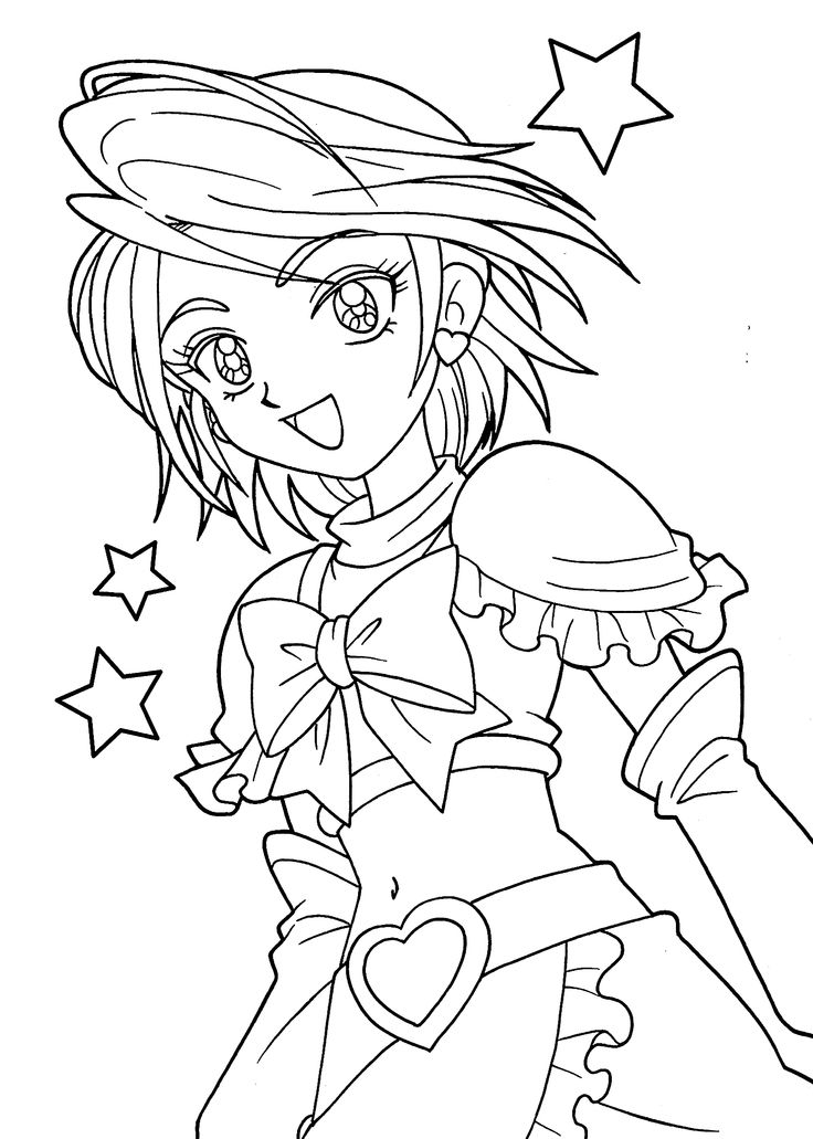 anime girl coloring pages to print anime girls group coloring page coloring home girl print to anime pages coloring
