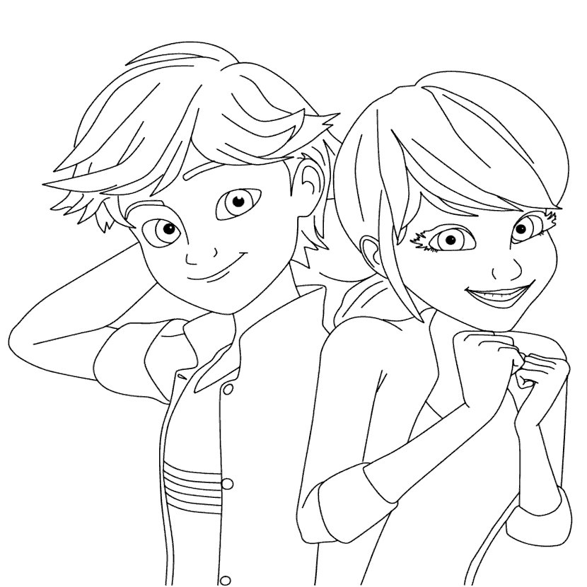 anime miraculous ladybug coloring pages printable coloring sheet for nickelodeon39s quotmiraculous ladybug anime pages miraculous coloring