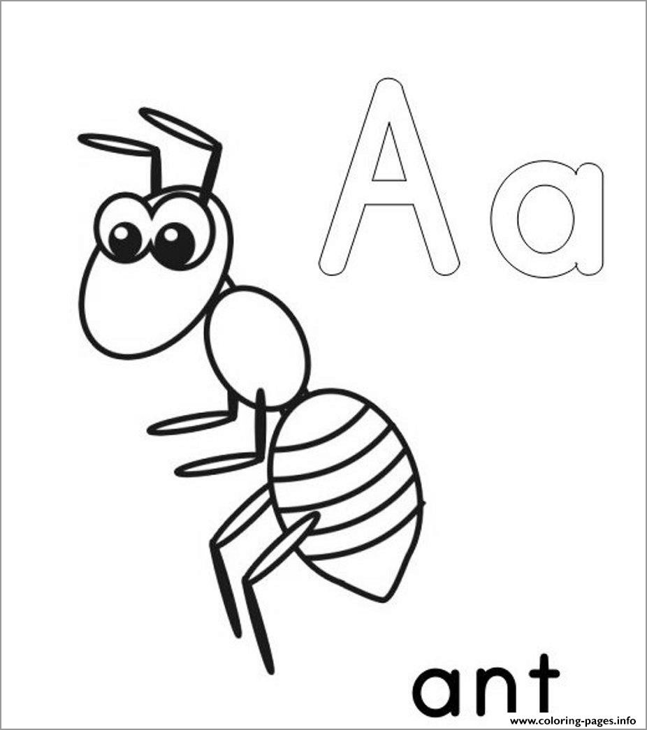 ant picture to color ant coloring pages ant coloring pages for kids ant picture to ant color