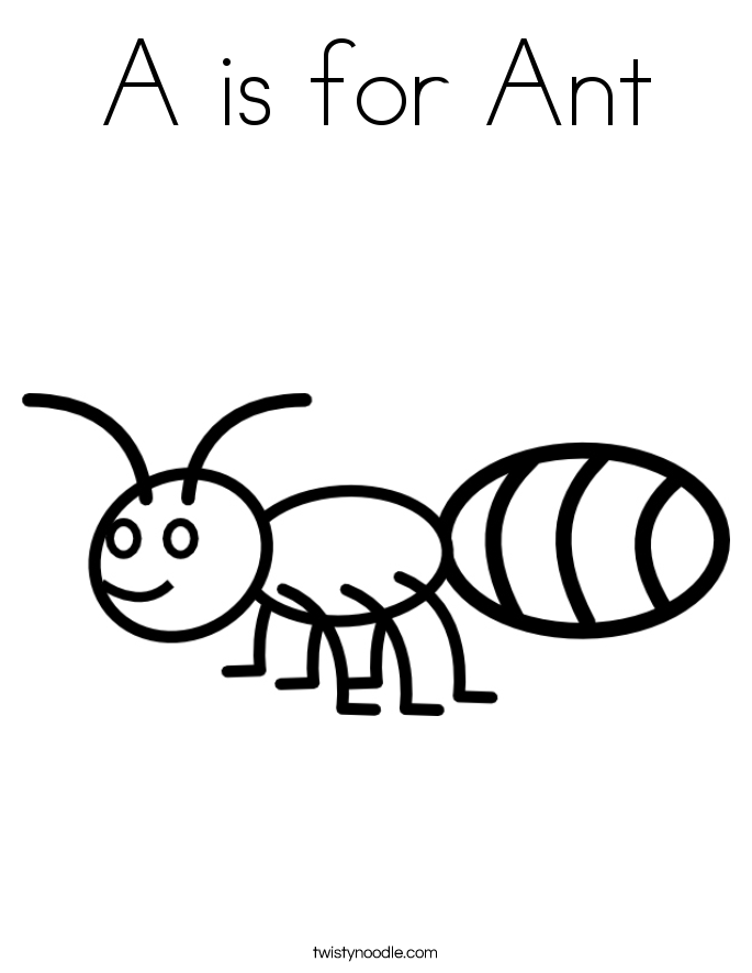 ant picture to color ant coloring pages for kids coloring home to color picture ant