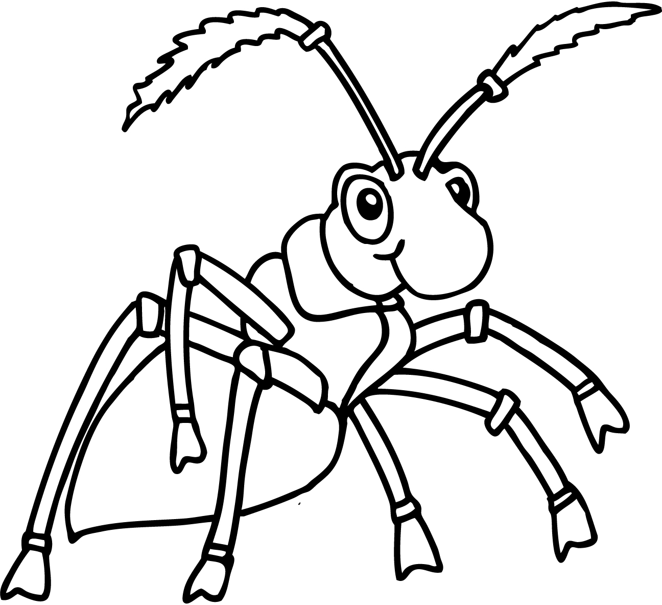 ant picture to color free printable ant coloring pages for kids ant color to picture