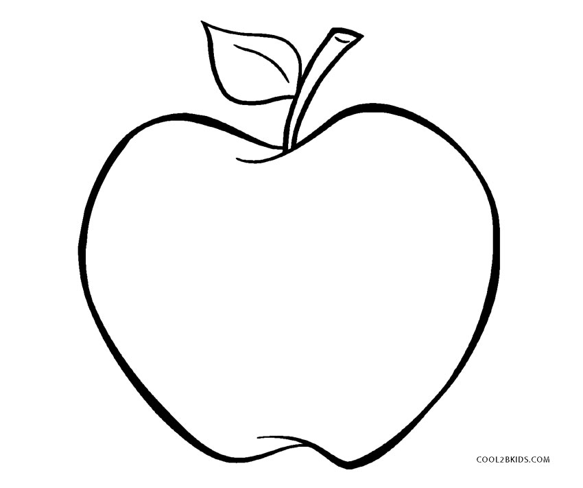 apple coloring for kids a for apple coloring page free printable kids apple for coloring