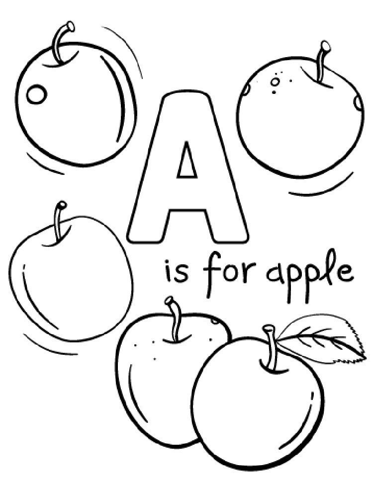 apple coloring for kids apple drawing for kids free download on clipartmag apple kids for coloring