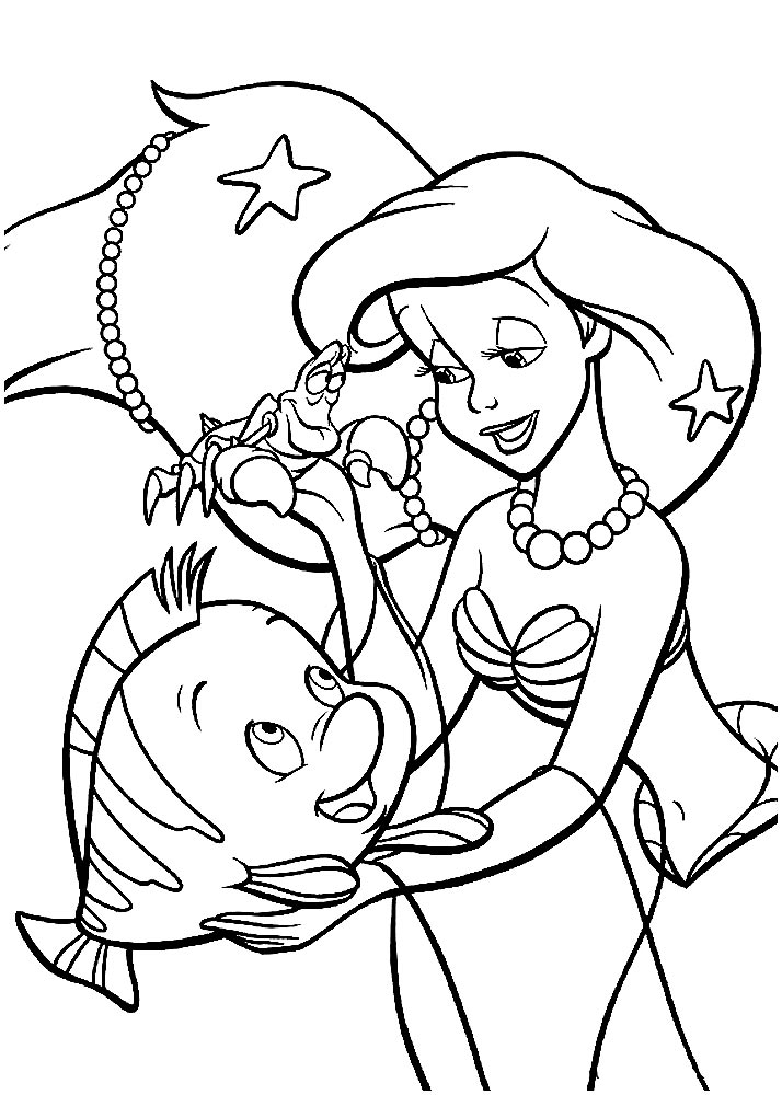 ariel coloring pages free baby ariel coloring pages at getcoloringscom free free pages ariel coloring