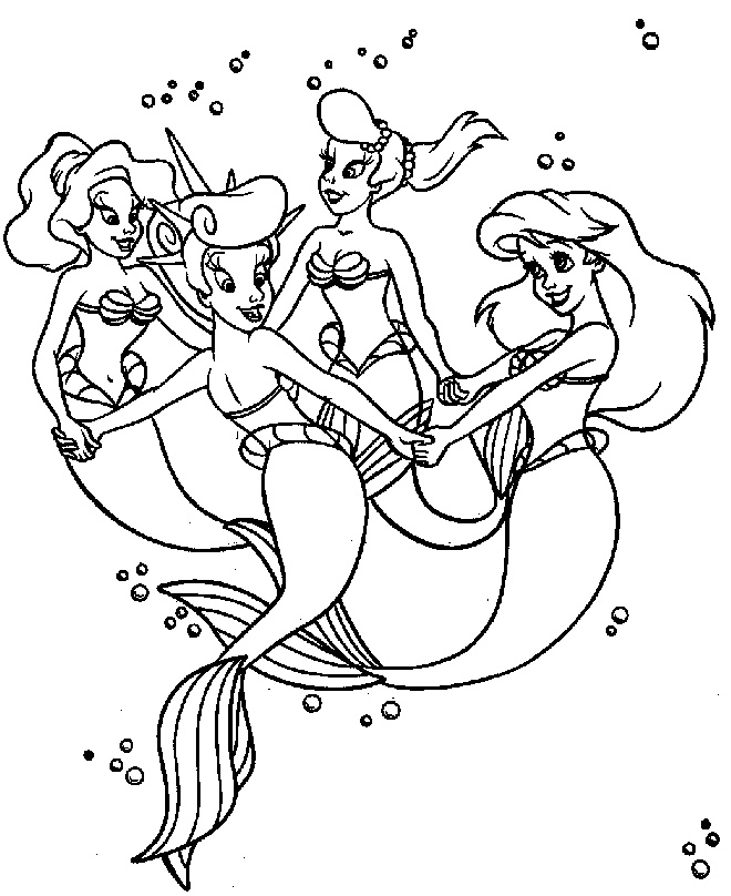 ariels sisters coloring pages ariel and her sisters coloring pages coloring pages sisters coloring ariels pages