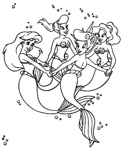 ariels sisters coloring pages the little mermaid sisters coloring pages dejanato pages ariels coloring sisters