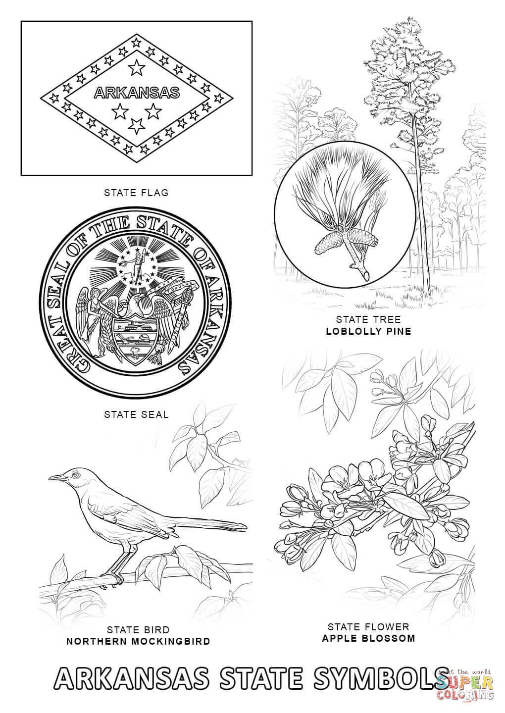 arkansas coloring pages 17 best ideas about color sheets on pinterest alabama arkansas coloring pages