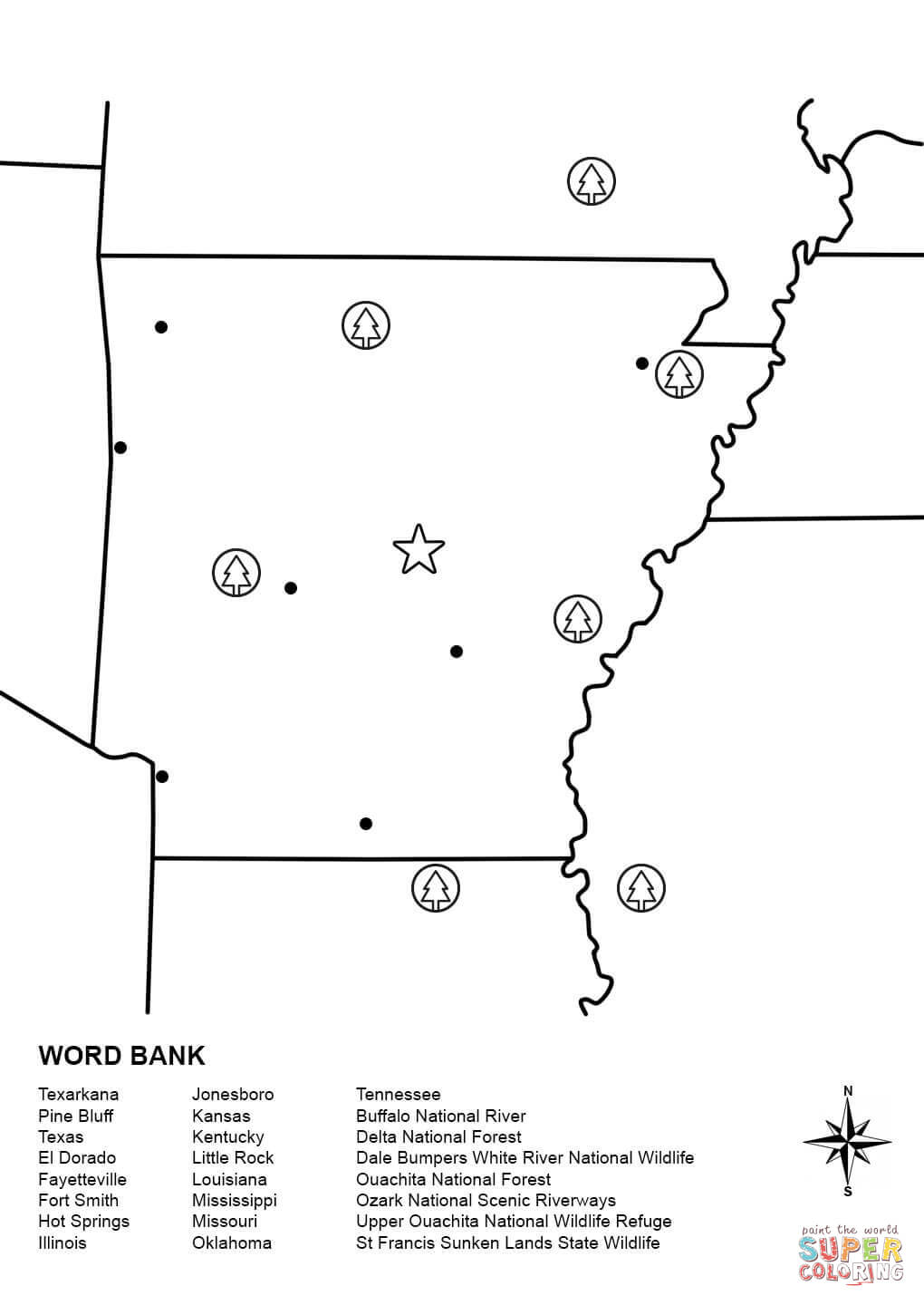 arkansas coloring pages 17 best images about arkansas on pinterest football arkansas pages coloring