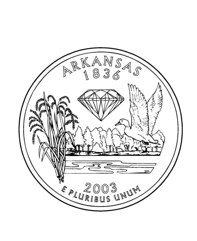arkansas coloring pages arkansas coloring page by doodle art alley learning the arkansas coloring pages