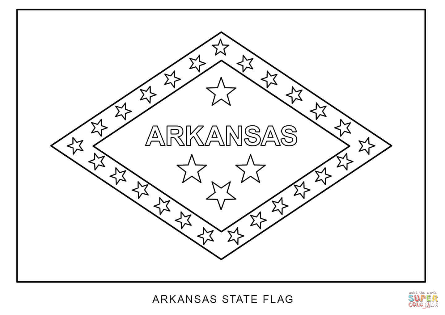 arkansas coloring pages usa printables state of arkansas coloring pages pages coloring arkansas