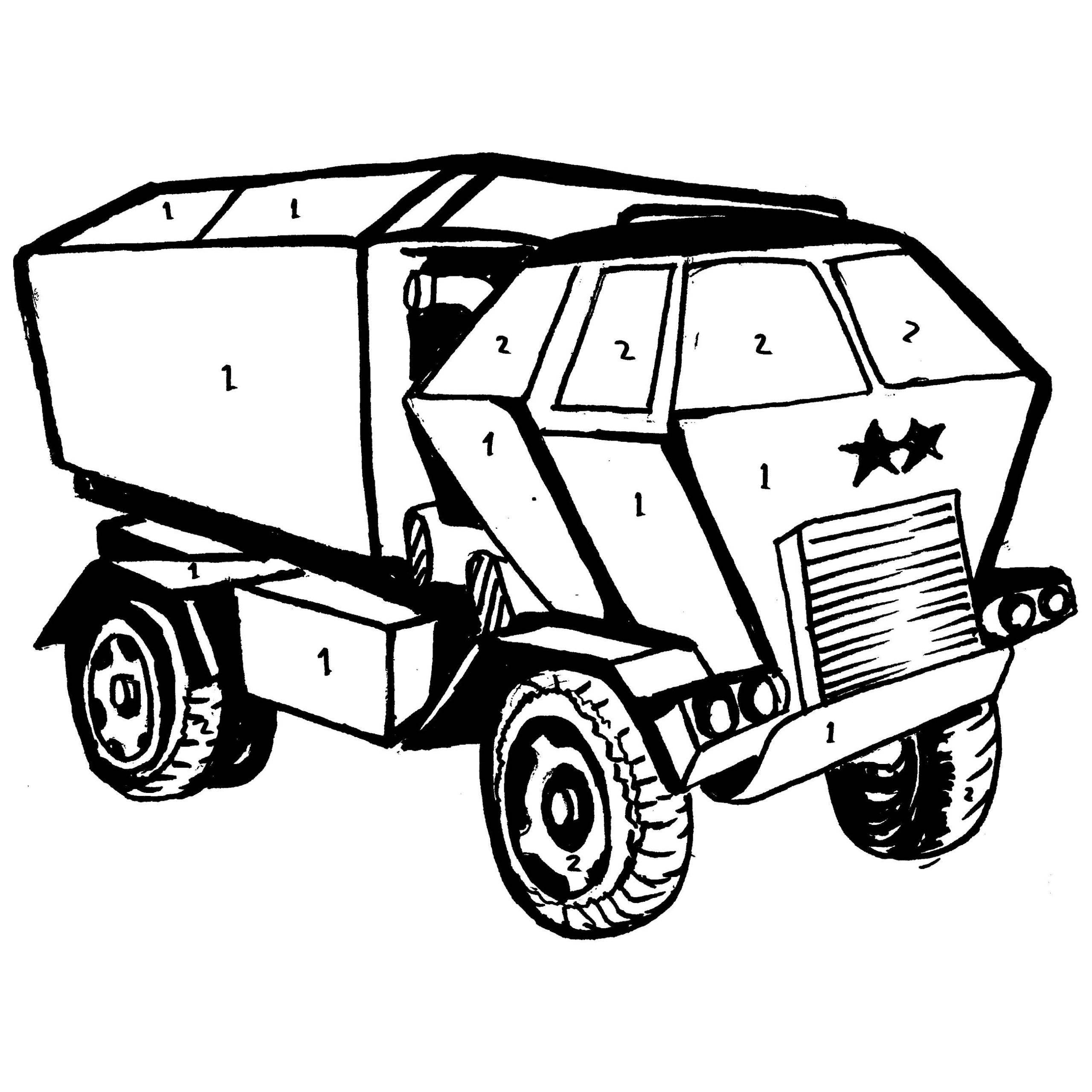 army truck coloring pages cartoon military truck coloring page for kids coloring truck pages army