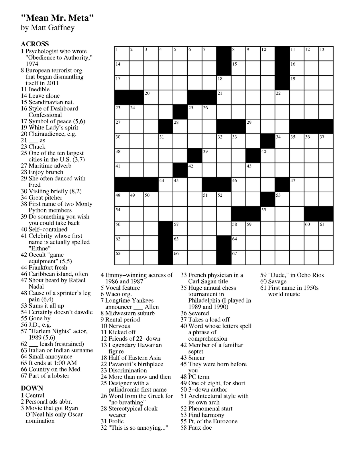 arrowword puzzles 5 best images of daily printable crossword puzzles puzzles arrowword