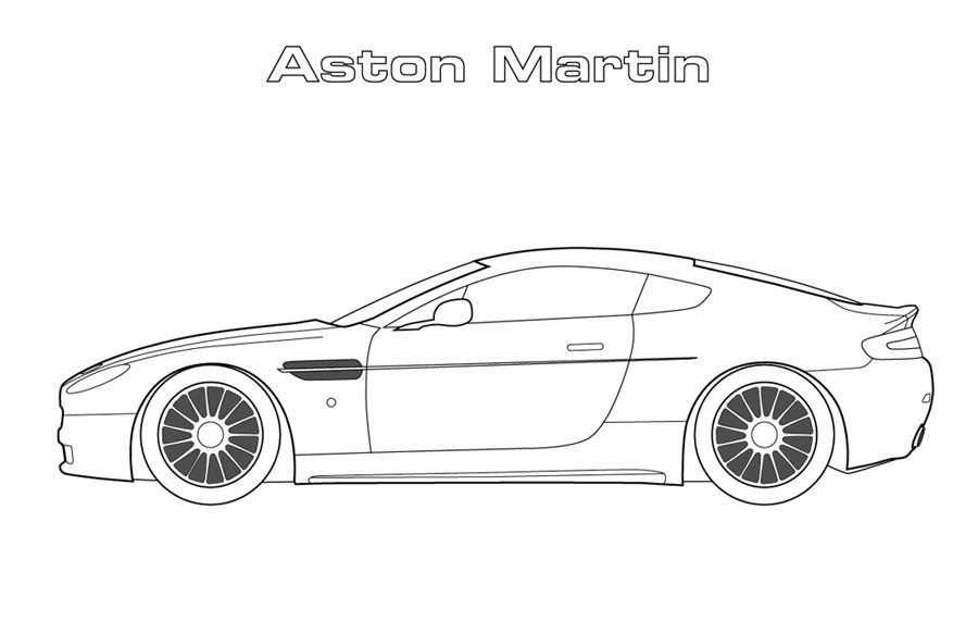 aston martin coloring pages car coloring pages aston martin aston pages martin coloring
