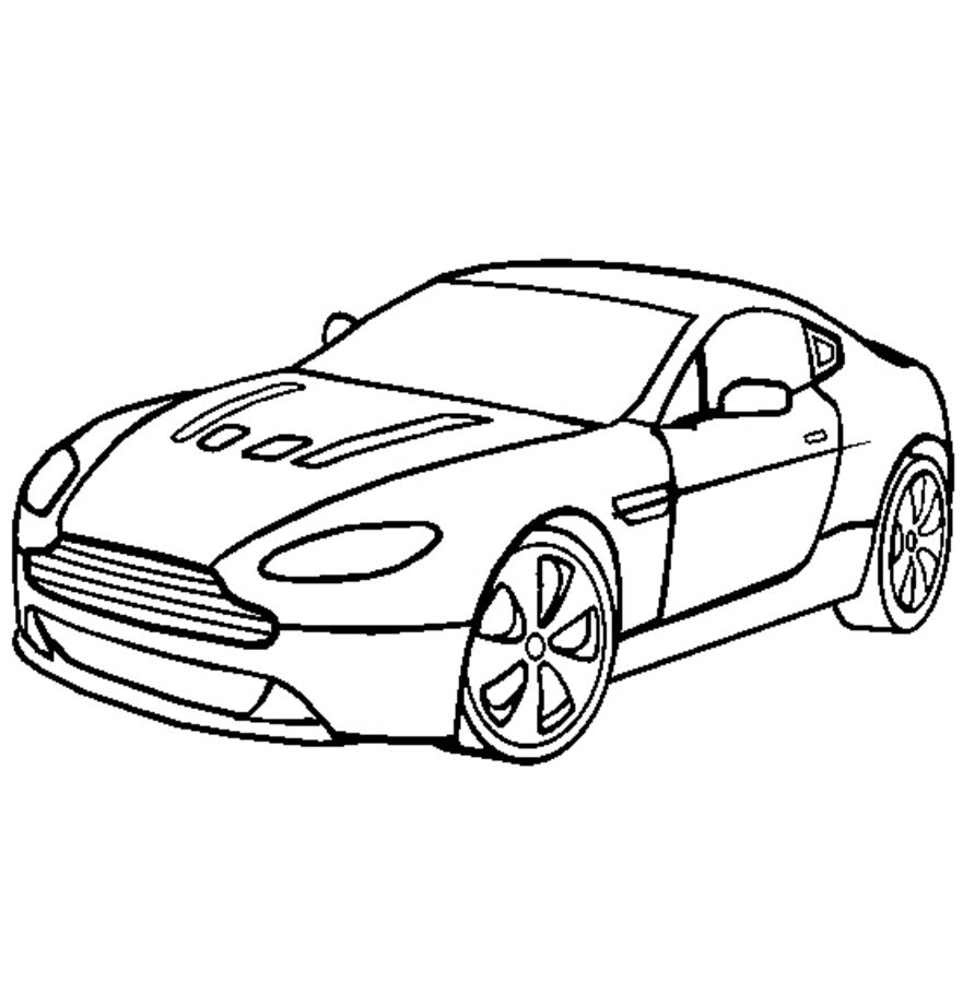 aston martin coloring pages coloring page aston martin v12 aston pages martin coloring