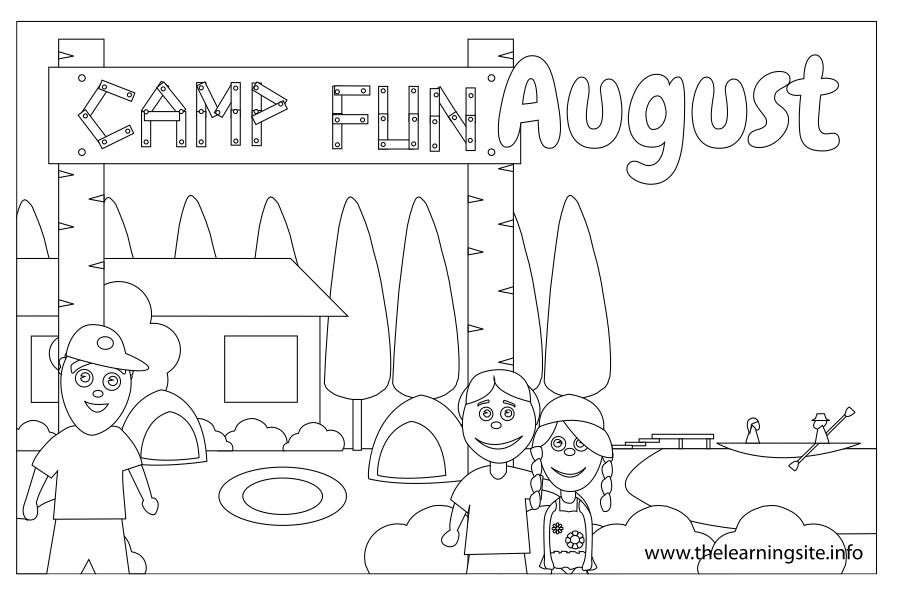 august coloring pages it is august coloring page twisty noodle pages coloring august