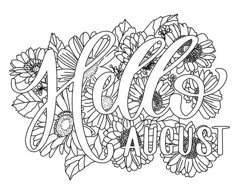 august coloring pages top 15 august coloring pages preschoolers free very unique coloring pages august