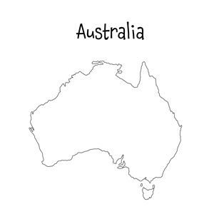 australia blank map printable 16 best printable maps images on pinterest geography printable map australia blank