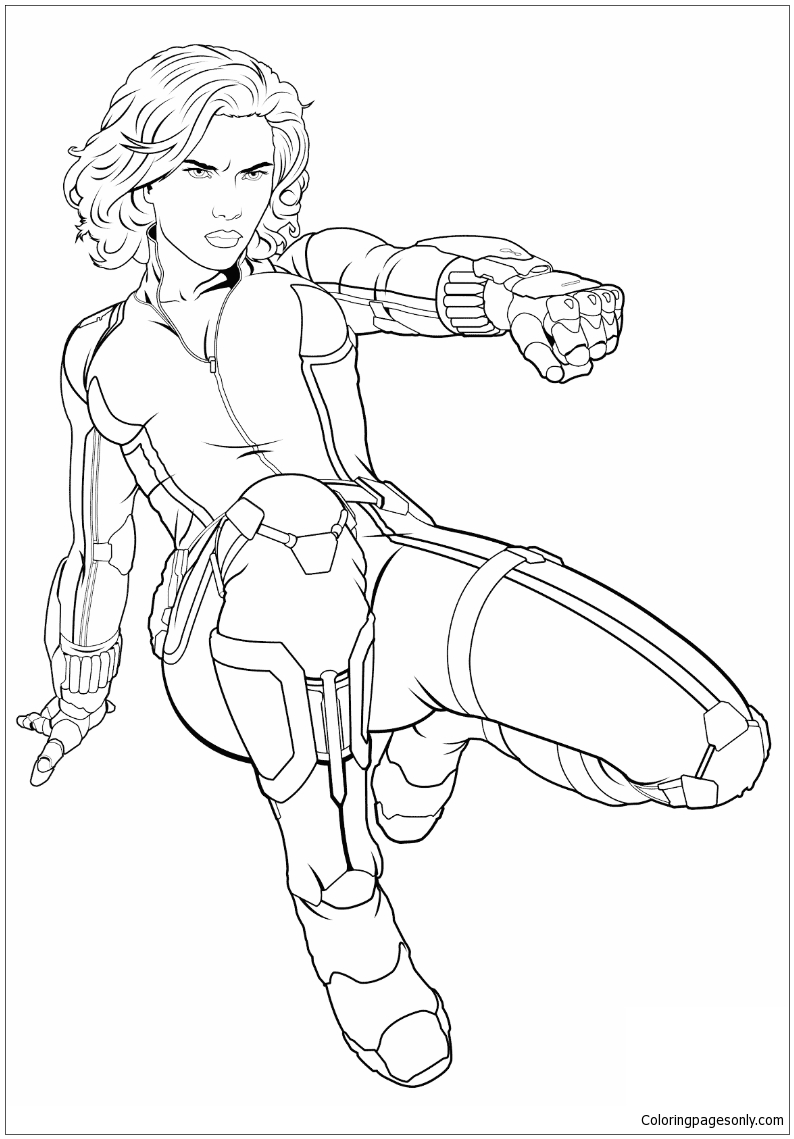 avengers black widow coloring pages black widow coloring download black widow coloring for widow avengers black pages coloring