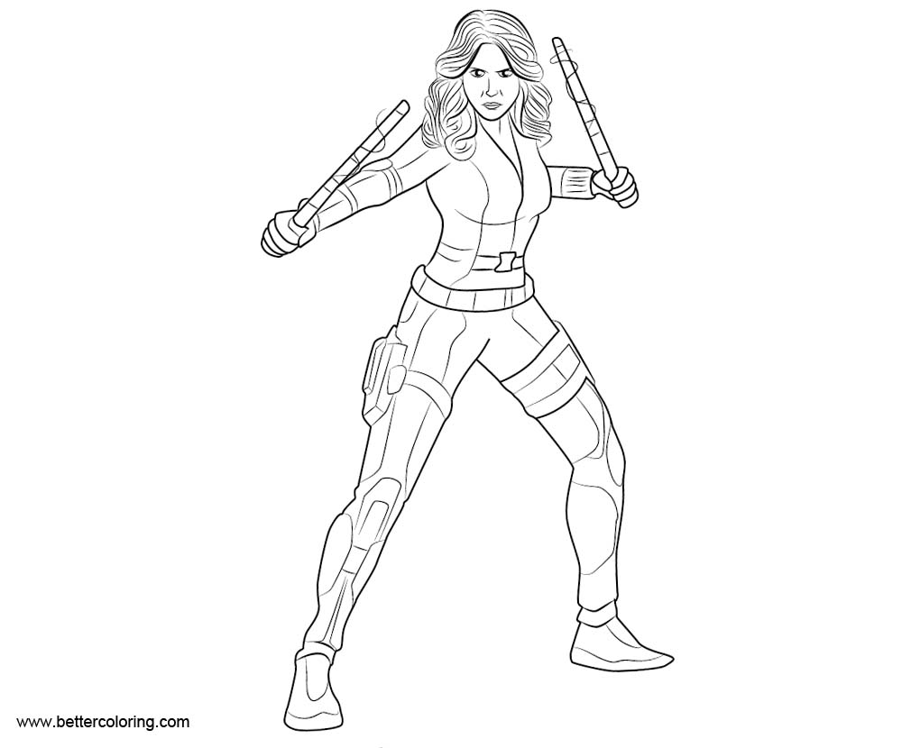 avengers black widow coloring pages black widow endgame coloring pages printable coloring widow pages black avengers