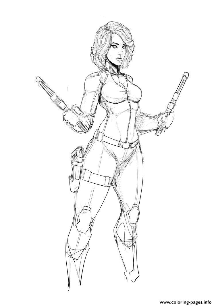 avengers black widow coloring pages black widow from the avengers coloring pages hellokidscom black coloring pages avengers widow