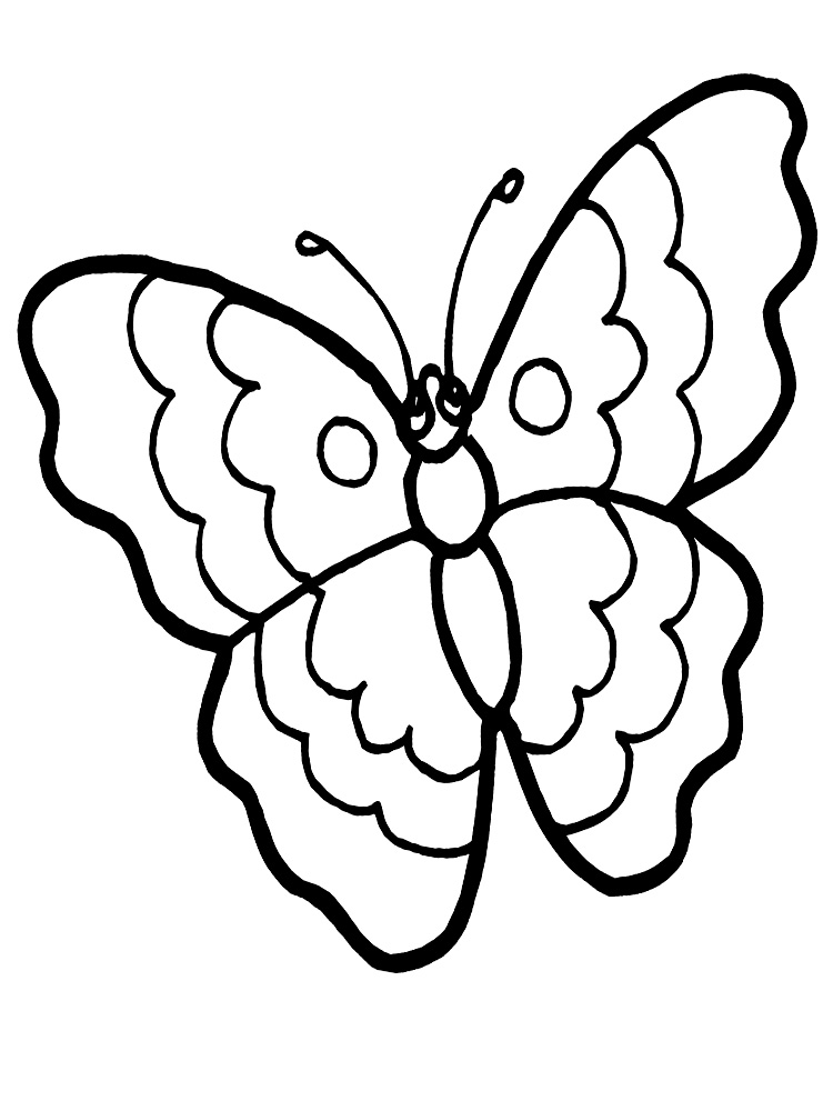 baby butterfly coloring pages a to z kids stuff butterfly color page pages butterfly coloring baby