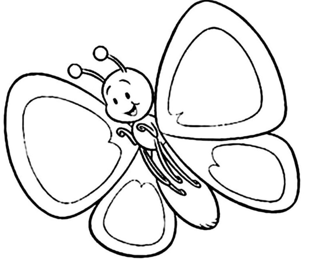 baby butterfly coloring pages baby butterflies lukisan gambar butterfly pages baby coloring
